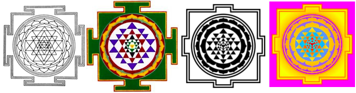 Sri Yantra Mandala Teaching Tool