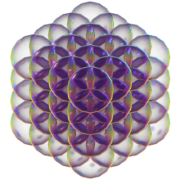 overlapping_sphere_packing_flower_of_life